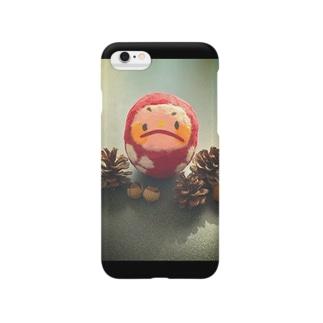 森のだるまちゃん Smartphone cases