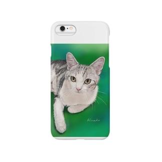 エキゾチックショートヘア チャビー君 Smartphone cases