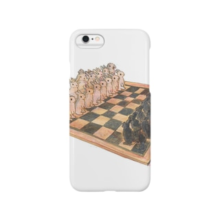 Rabbit chess Smartphone cases