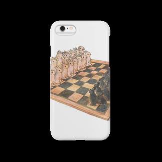 SCHINAKO'SのRabbit chess Smartphone cases