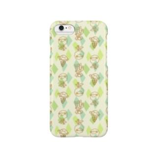 【メリのすけフレンズ】(みどり) Smartphone cases