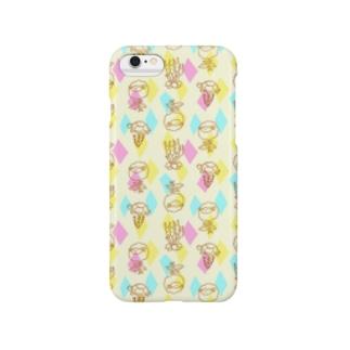 【メリのすけフレンズ】(ビビッド) Smartphone cases