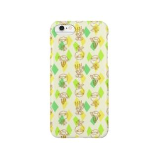 【メリのすけフレンズ】(菜の花) Smartphone cases