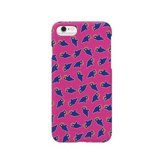 ピーヨiPhoneケース pink Smartphone cases