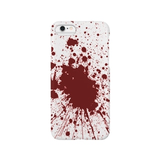 血しぶき Smartphone cases