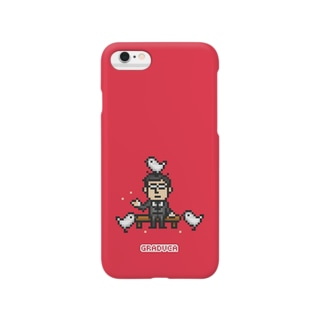PixelArt さざなみ係長 Smartphone cases