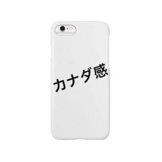 ( カナダ行きたい ) 🇨🇦 Ongakus font goods スマートフォンケース
