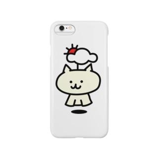 【SALE】てるてるネコ(通常) Smartphone cases