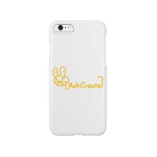 MultiCreateロゴ Smartphone cases