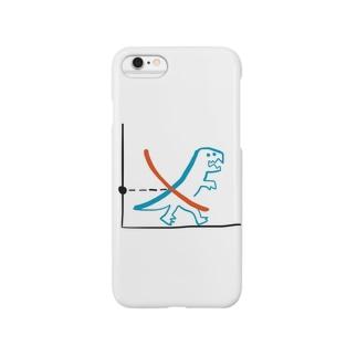 需要と恐竜 Smartphone cases