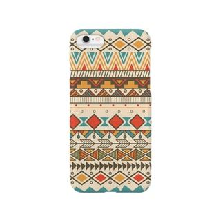 ネイティブ柄A Smartphone cases