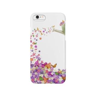 フラワーiPhoneケース Smartphone cases