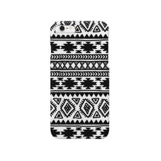 オルテガ柄D Smartphone cases