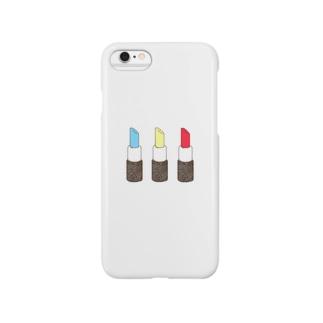 カラフルリップ Smartphone cases