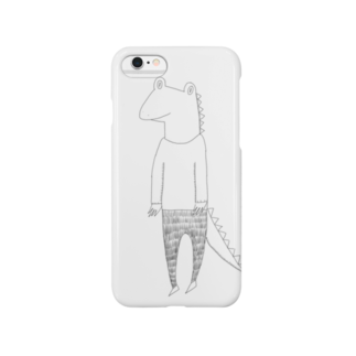 Tommy_is_mozukuのMy friends  crocodile Smartphone cases