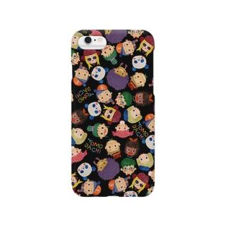 LOVE!TOMODACHI(BLACK) Smartphone cases