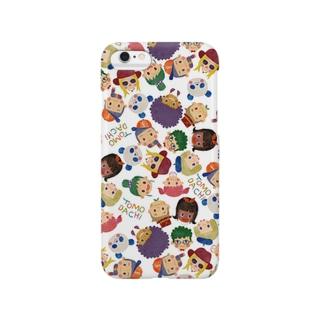 ちばしげのLOVE!TOMODACHI(WHITE) Smartphone cases