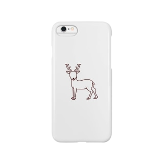 鹿 Smartphone cases