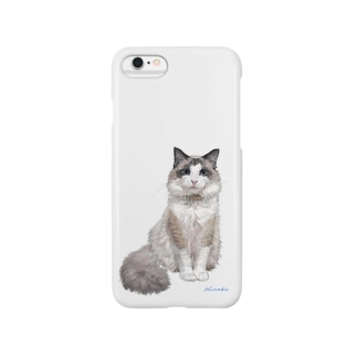 ラグドール フィナンシェちゃん Smartphone cases