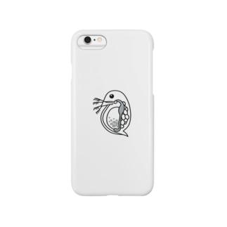 ミジンコiPhoneケース Smartphone cases