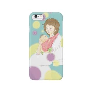おかあさんと、いっしょ Smartphone cases