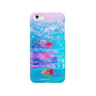 透明金魚 Smartphone cases