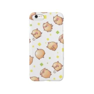 らせんゆむのぷちトン(アクロバット模様) Smartphone cases