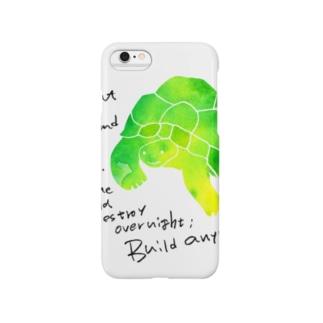笑うかめ Smartphone cases
