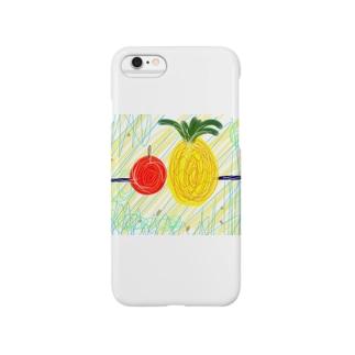 棒パイナッポーアッポー棒 Smartphone cases