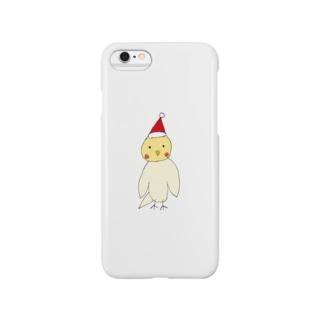 ピーちゃんクリスマス Smartphone cases