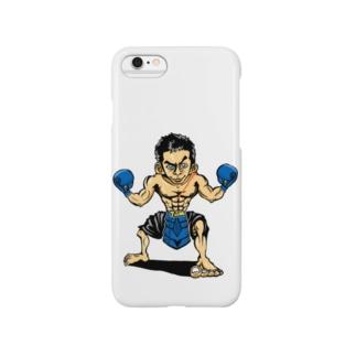 ASB boxingclub SHOPの ASBスタッフ「タムタム」アイテム  Smartphone cases