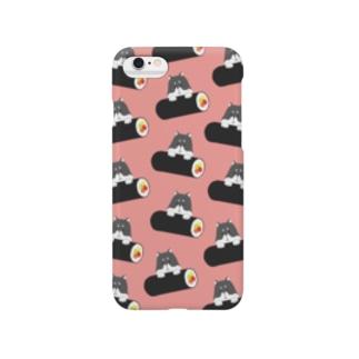 巻き寿司柴犬 Smartphone cases