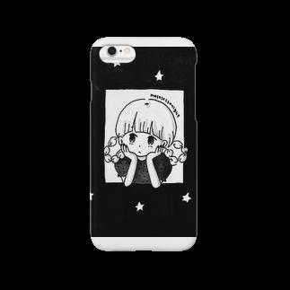 黄身子の連絡まち子ちゃん Smartphone cases