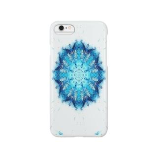 結晶の鏡 Smartphone cases