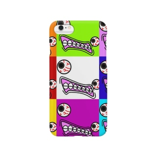 ギョロ(colorful) Smartphone cases