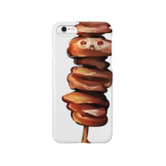 牛筋のりゅうくん Smartphone cases