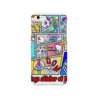 LINEスタンプ「モヒオの気持ち」 Smartphone cases