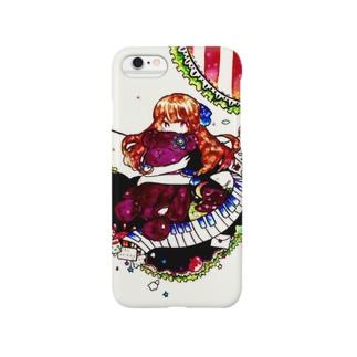 女の子とヌイグルミ Smartphone cases