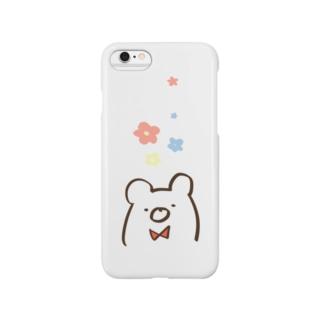 クマ Smartphone cases