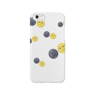 絵文字シリーズ まんけつ子ちゃん その1 Smartphone cases