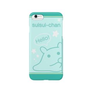 Hello!【水星人のスイスイちゃん】 Smartphone cases
