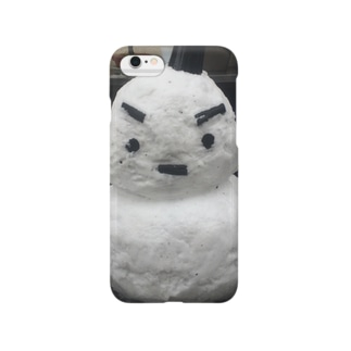 思い出の雪だるま Smartphone cases