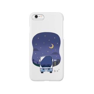 夜行バスで出かけましょう Smartphone Case