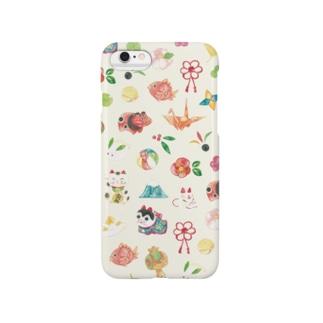 和柄 iPhoneケース Smartphone cases