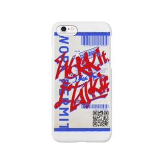 Work it like a I talk it あか Smartphone cases