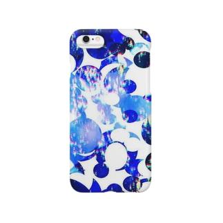 バ・ブルー Smartphone cases