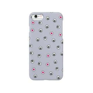 おむすびころころ(ライラック)スマートフォンケース Smartphone cases