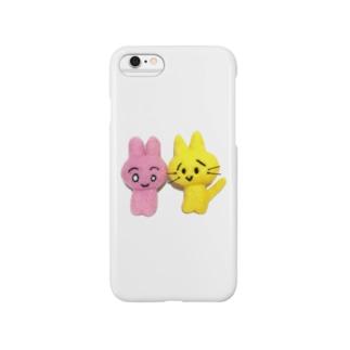 リアルかわいいワールド Smartphone cases