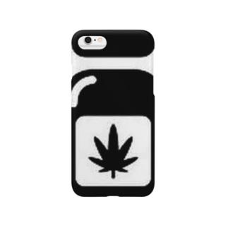 麻の葉グッズ Smartphone cases