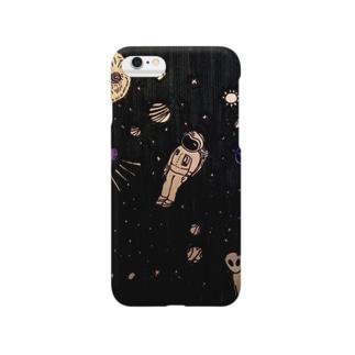 shouchikubai_tamerokuの宇宙飛行士O Smartphone cases